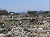 7月10日石巻市被災地