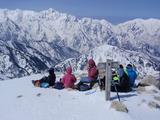 11年4月雪山唐松岳 051